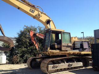 1989 Cat Caterpillar Model 235c Hydraulic Excavator photo