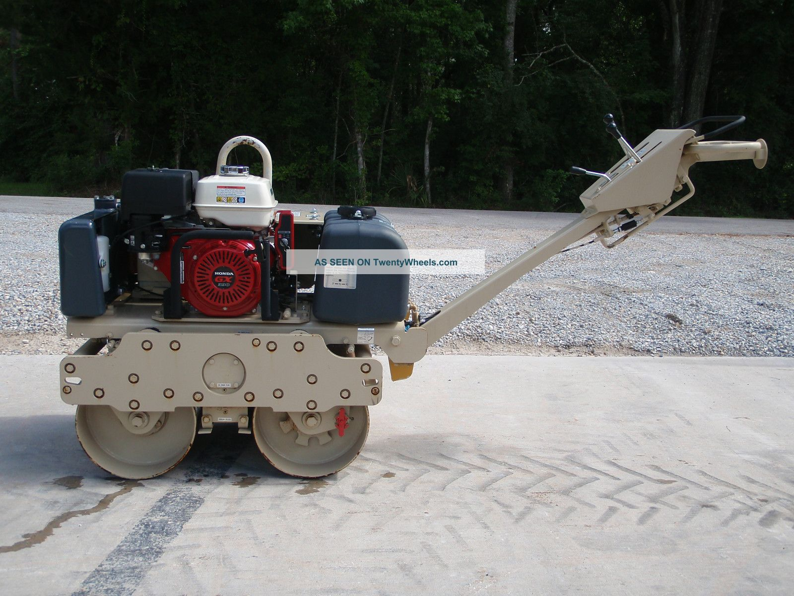 Construction Equipment Asphalt Roller Ingeroll - Rand Dx - 600 H Compactors & Rollers - Riding photo