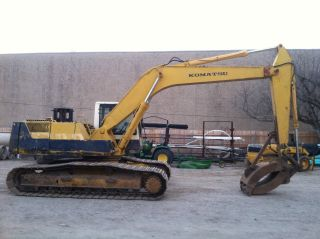 Komatsu Pc200lc - 5l With 5yd.  Demo Grapple; S/n: A70808 - 9983 Hrs photo
