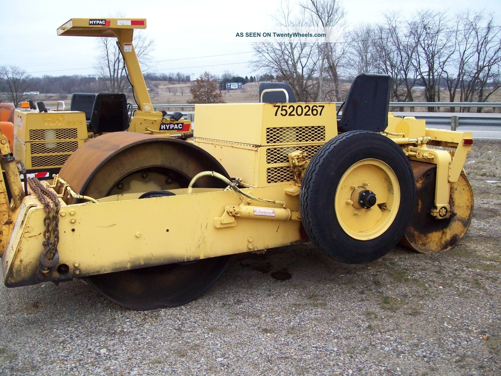 Hyster C330b Diesel Asphalt/stone Roller W/tow Pac Compactors & Rollers - Riding photo