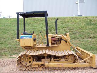 Mitsubishi Bull Dozer Lgp Mud Track Tractor Bd2f Aprox.  350 Case John Deere Size photo