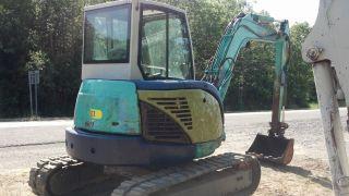 2010 Ihi55vx Mini Midi Excavator Diesel Cab Air Heat New Tracks Video L@@k photo