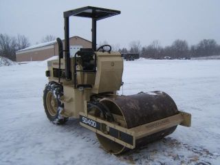 Ingersoll Rand Sd40d Compaction Roller photo