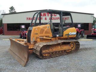 2007 Case 850k Lgp Bulldozer - Dozer - Crawler Tractor - Sweeps - Rear Screen photo