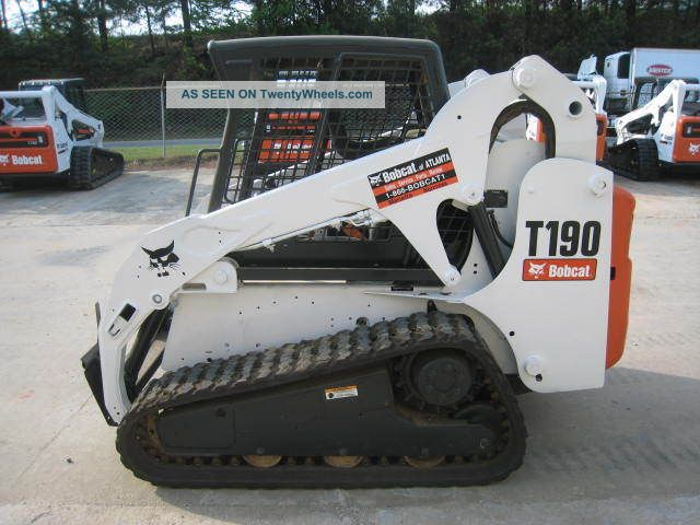 Bobcat Skid Steer Paint : Bobcat t track loader open cab new paint
