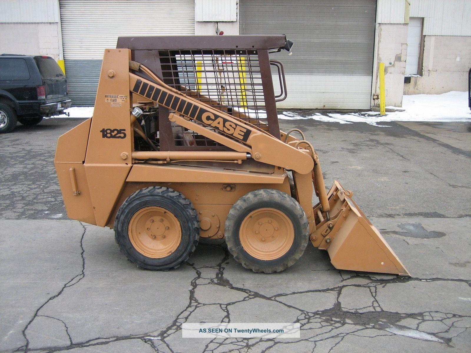 Case 1825 Diesel Powered Skidsteer 1000lb. Capacity, 48 ...