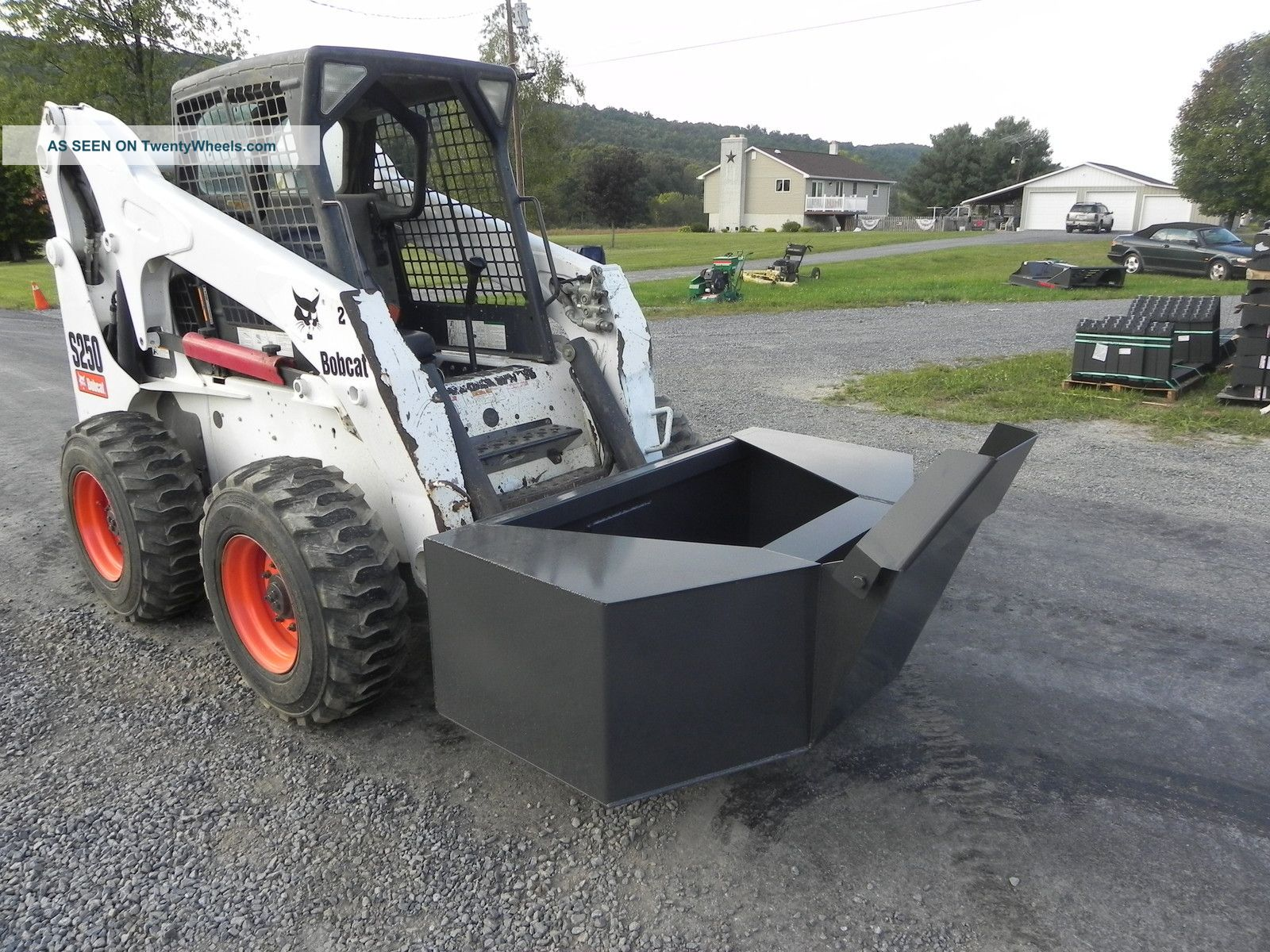 New Cid Xtreme 1 2 Yard Concrete Cement Bucket For Bobcat