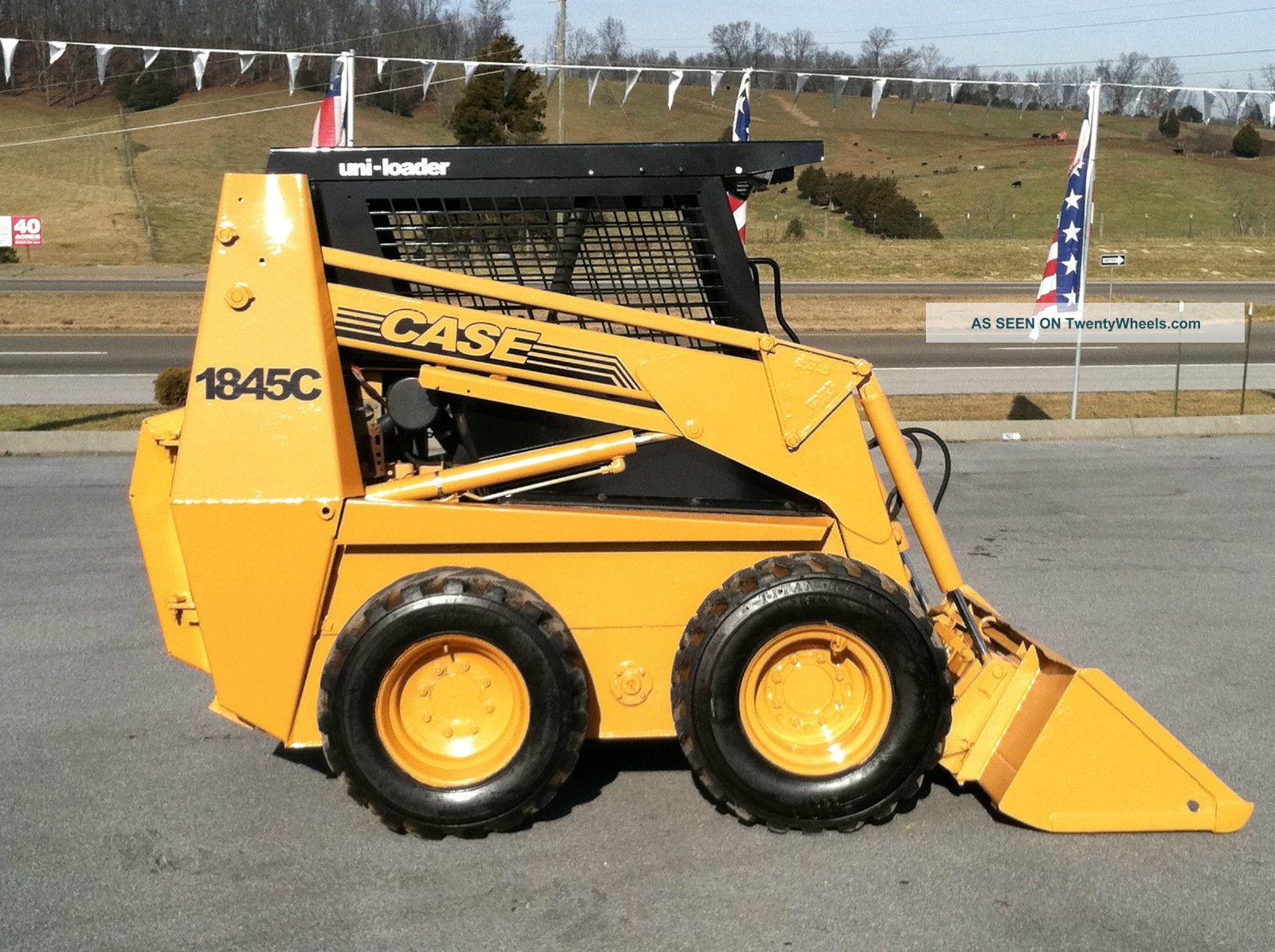 Steer Case Skid : Case c skid steer loader
