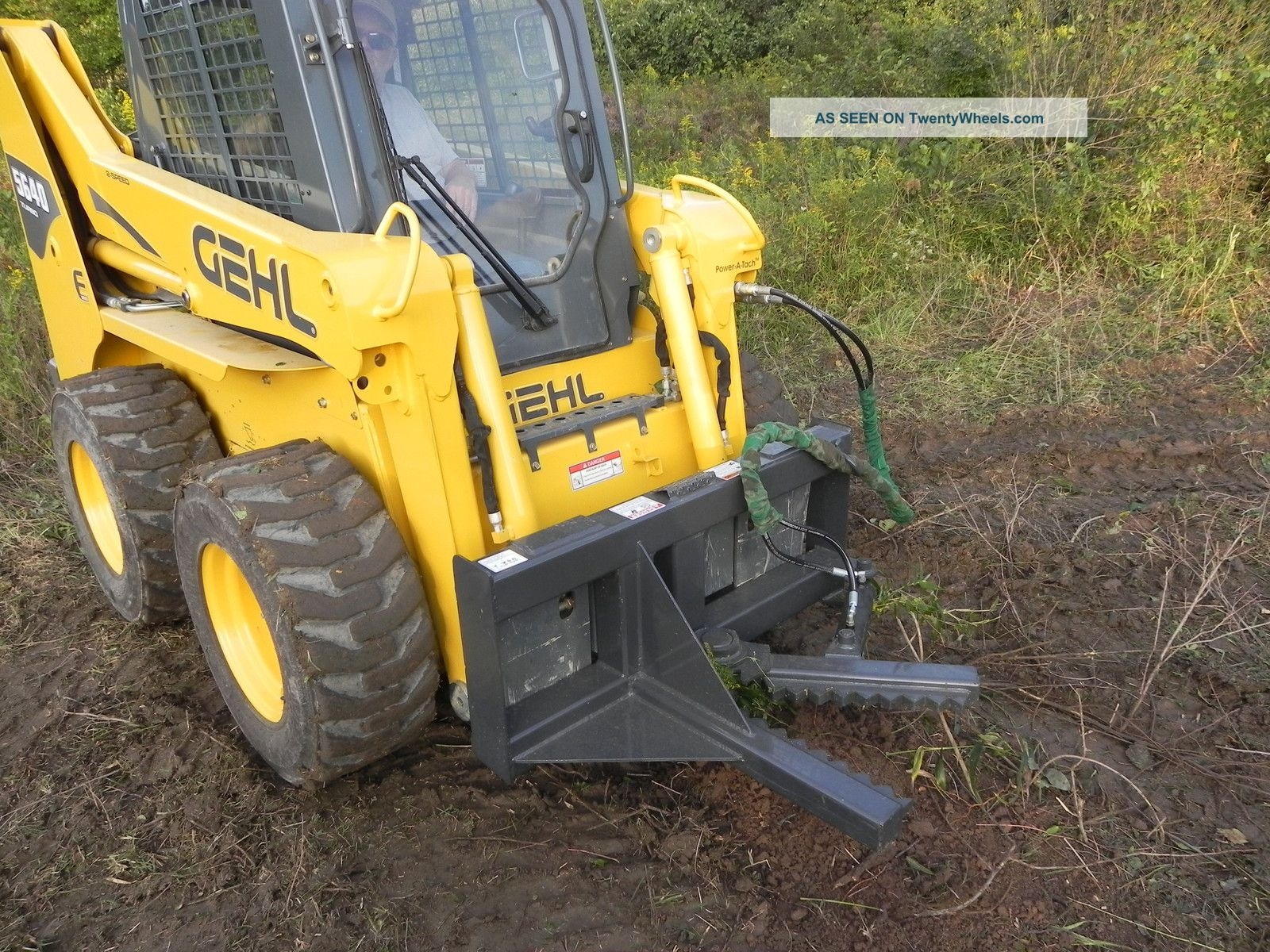 Case 1845c Specs >> Cid Xtreme Tree And Post Puller Tree Shear For Bobcat Skid ...