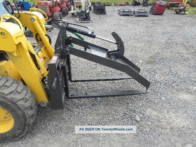 """Case 1845c Specs >> Cid Xtreme 48 """" Fork Grapple Log Bobcat Wood Skid Steer ..."""