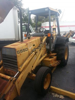1994 Ford 555d Tractor Loader Backhoe Diesel Runs Awesome,  Fires Up $12,  499.  Obo photo