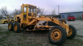 Galion Motor Grader Model 303md Tires 90% New photo