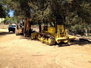 John Deere 450c Crawler Bulldozer Reconditioned,  Turbon,  Gauges,  Fittings & Seat photo