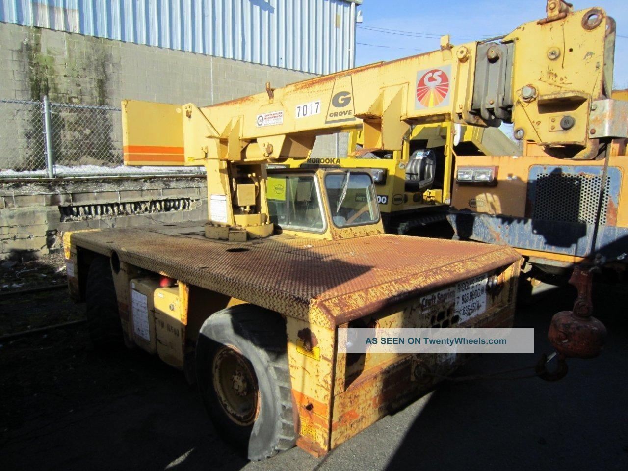 Grove Ap308 Carry Deck Crane Diesel 8.  5 Ton Capacity Cranes photo