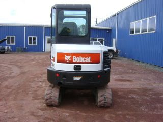 2010 Bobcat E32 Mini Excavator Cab W/ Heat And Ac Only 935 Hours photo