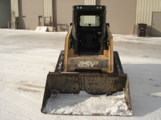 2008 Asv Pt60 Track Skid Loader photo