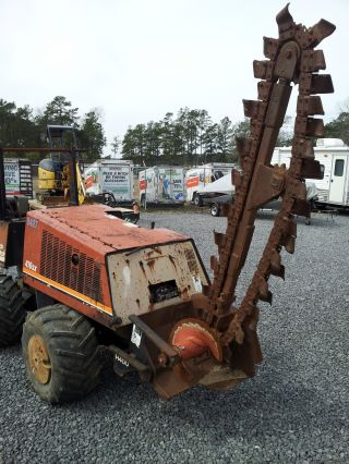 Ditch Witch 410sx Trencher/plow,  Boring Attachement/rods And Trailer photo