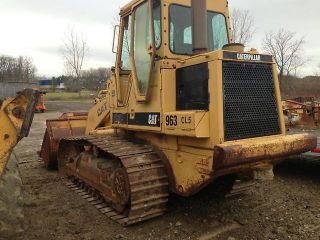 Caterpillar Cat 963 Crawler Loader Dozer Tractor Cat Tractor Hystat photo