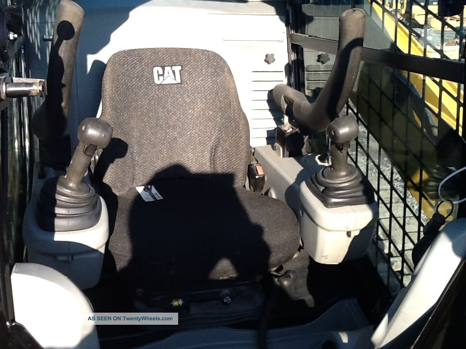 Caterpillar 289c Skid Loader Track Loader Cat Full Cab