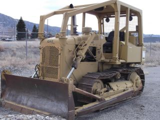Caterpillar D4e Bull Dozer (must See ) photo