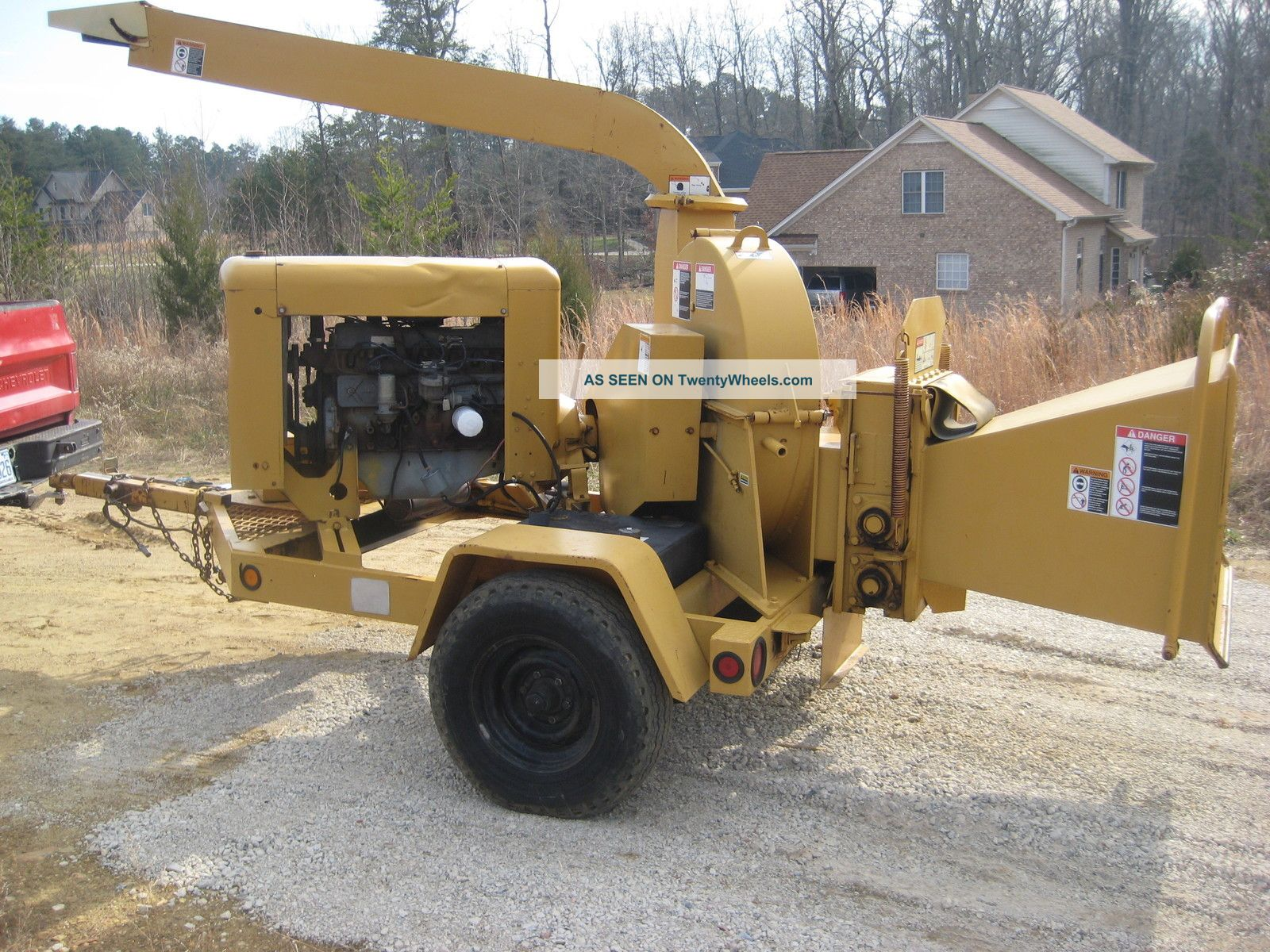 Wood Chuck Wood Chipper Manual
