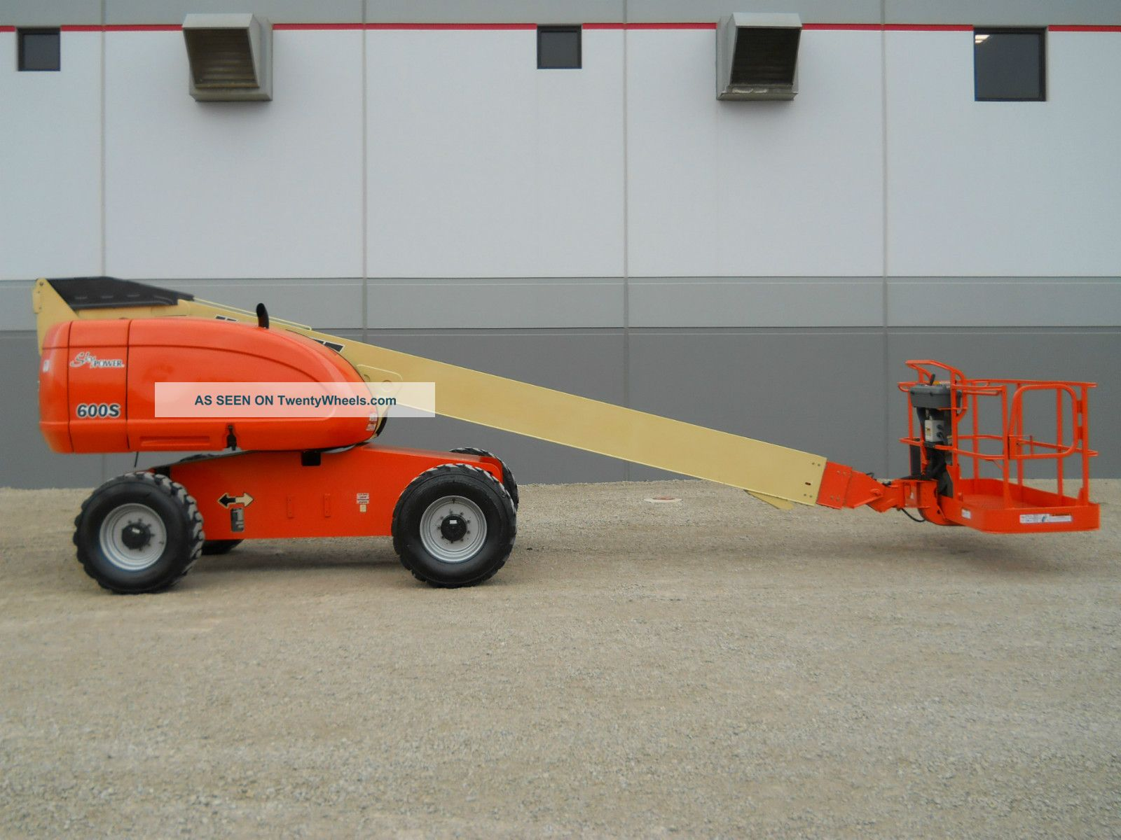05 ' Jlg 600s Aerial Manlift Boom Lift Boomlift Duel Fuel Man Telescopic Basket Lifts photo