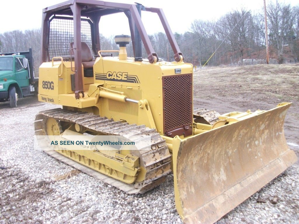 Case 850g Lt.  Low Hr ' S,  Excellent Undercarriage,  Tight All Over. Crawler Dozers & Loaders photo