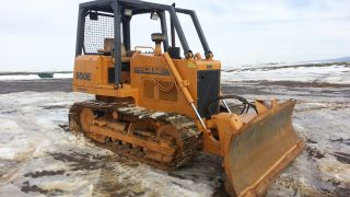 1995 Case 850e Bulldozer Dozer Heater Crawler Tractor Diesel Machine. . . photo