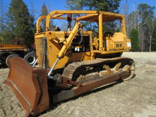 1981 Fiat Allis 16b Dozer W/ 12 ' Blade photo