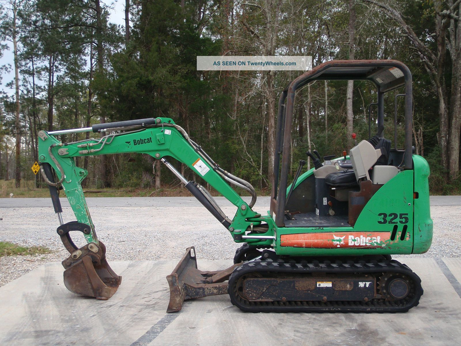 2005 Bobcat 325 G Mini Excavator Construction Heavy Equipment