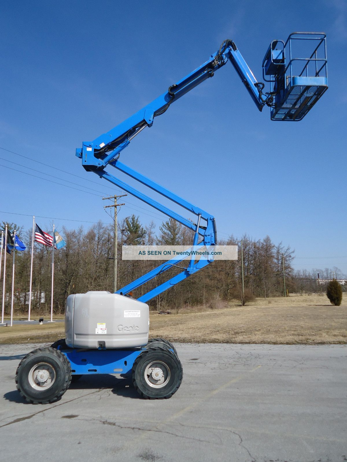 Genie Man Lifts : U haul self storage genie manlift