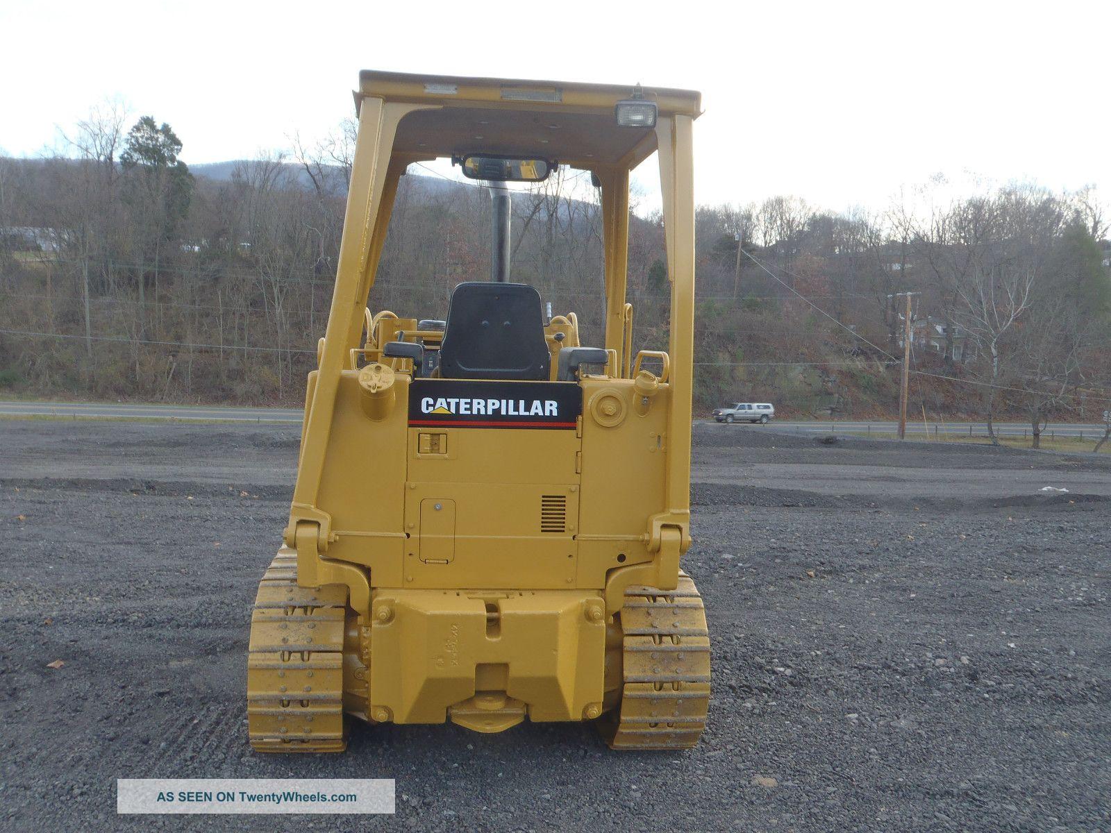 1997 Caterpillar 933 Track Loader Dozer Gp Bucket 4730 Hrs