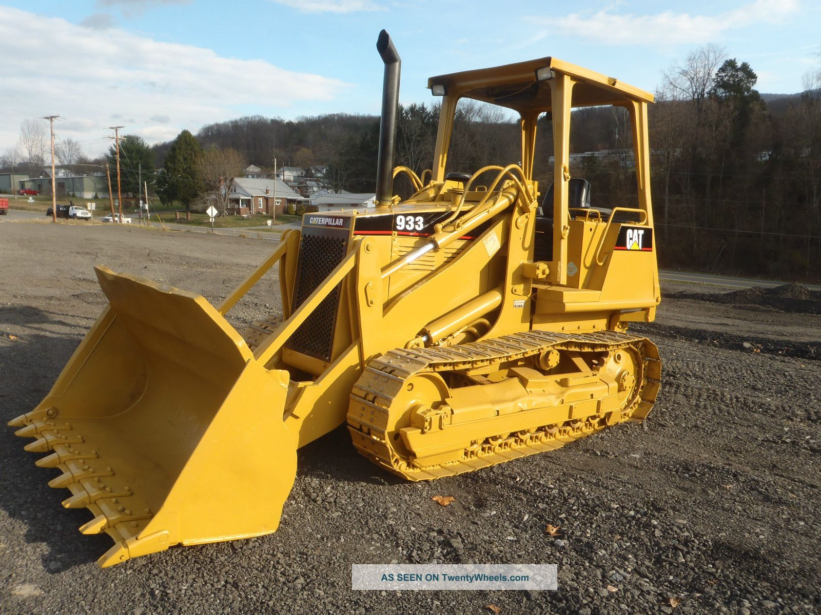 1997 Caterpillar 933 Track Loader Dozer Gp Bucket 4730 Hrs