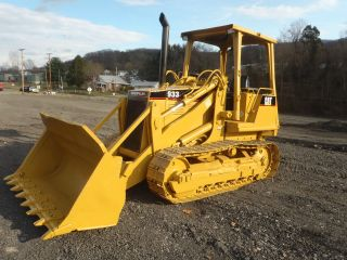1997 Caterpillar 933 Track Loader Dozer Gp Bucket 4730 Hrs Ready To Work Look photo