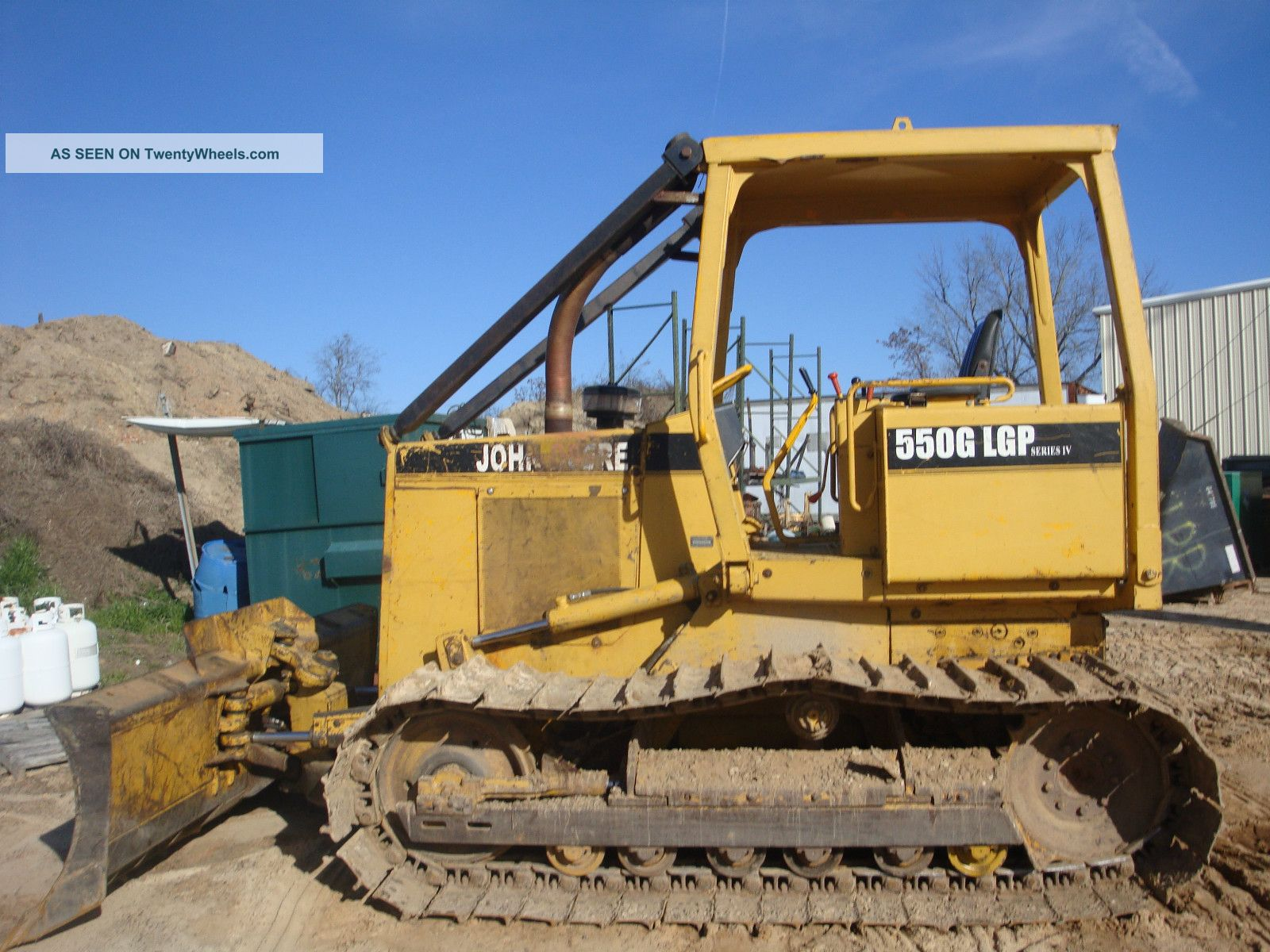 1992 John Deere 550g Lgp Dozer Crawler Dozers & Loaders photo