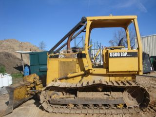 1992 John Deere 550g Lgp Dozer photo