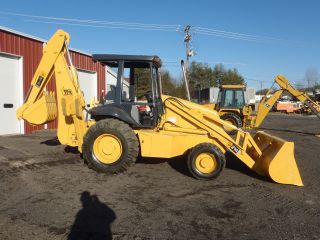 2000 Jcb 214e Series 4 Backhoe Loader 4x4 Orops Ready To Work Look photo