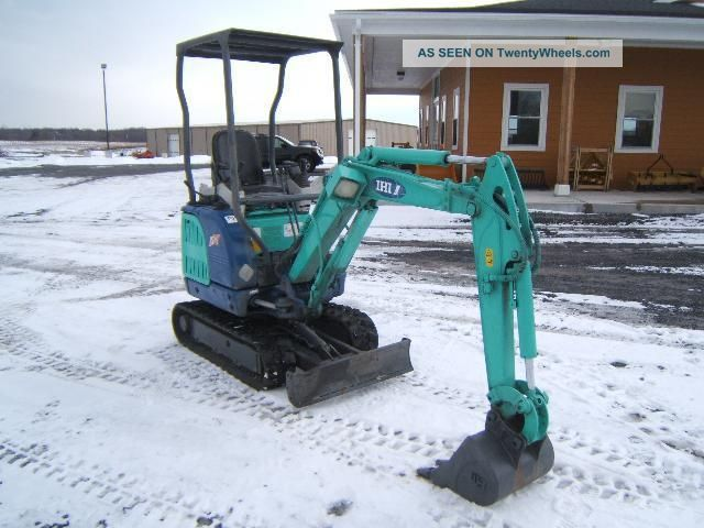 Ihi 15nx Mini - Excavator Excavators photo