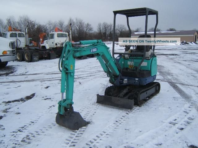 Ihi 15nx Mini - Excavator Excavators photo 1