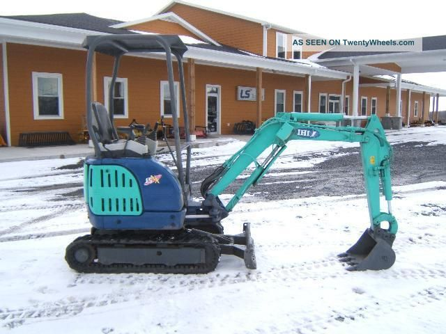 Ihi 15nx Mini - Excavator Excavators photo 2