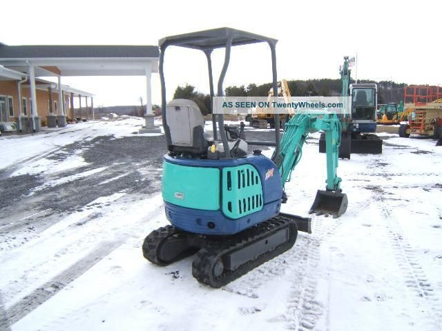Ihi 15nx Mini - Excavator Excavators photo 4