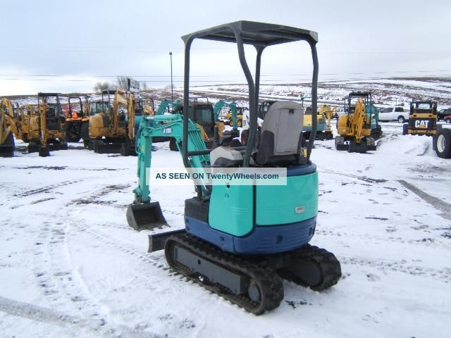 Ihi 15nx Mini - Excavator Excavators photo 5