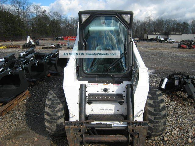 Bobcat Skid Steer Paint : Bobcat s hours paint new tires never cab