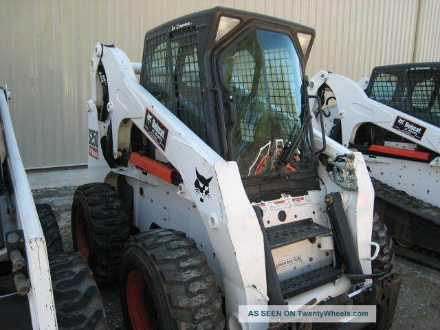 Bobcat Skid Steer Paint : Bobcat s hrs great tires paint cab