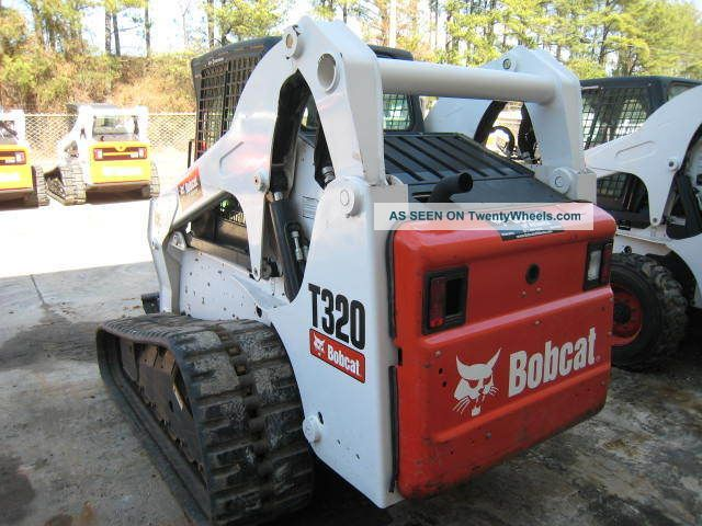 Bobcat Skid Steer Paint : Bobcat t hrs great tracks new paint cab