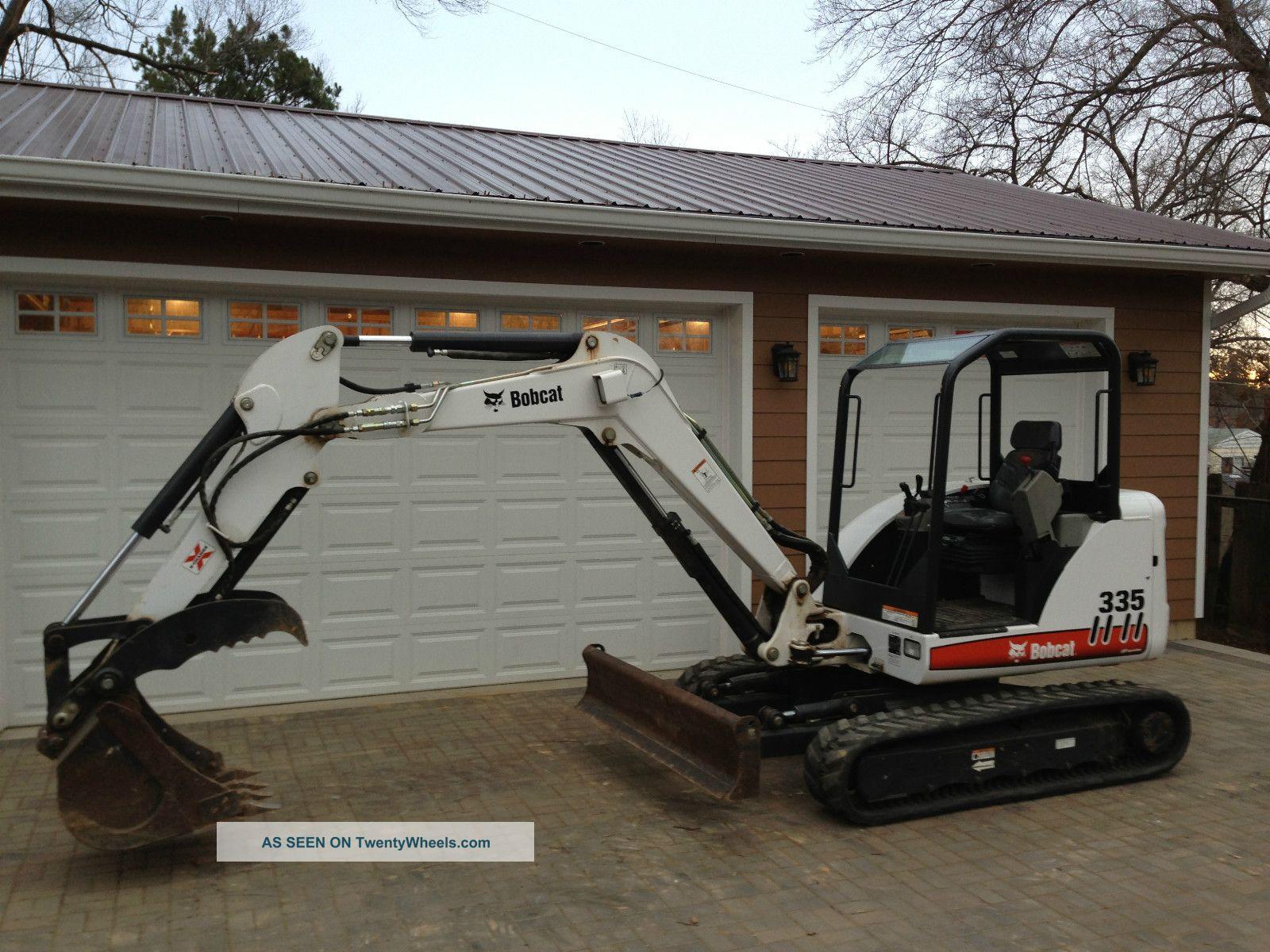 2007 Bobcat 335 Excavator With 24