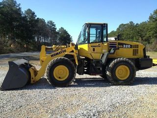 2006 Komatsu Wa320 - 5l Wheel Loader Low Hours photo