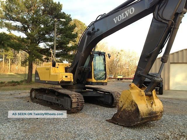 2005 Volvo Ec210blc Hydraulic Excavator Track Hoe