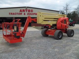 2004 Jlg 450aj Boom Lift - 45 ' Manlift - 4x4 - Diesel - 2498 Hours - Genie photo