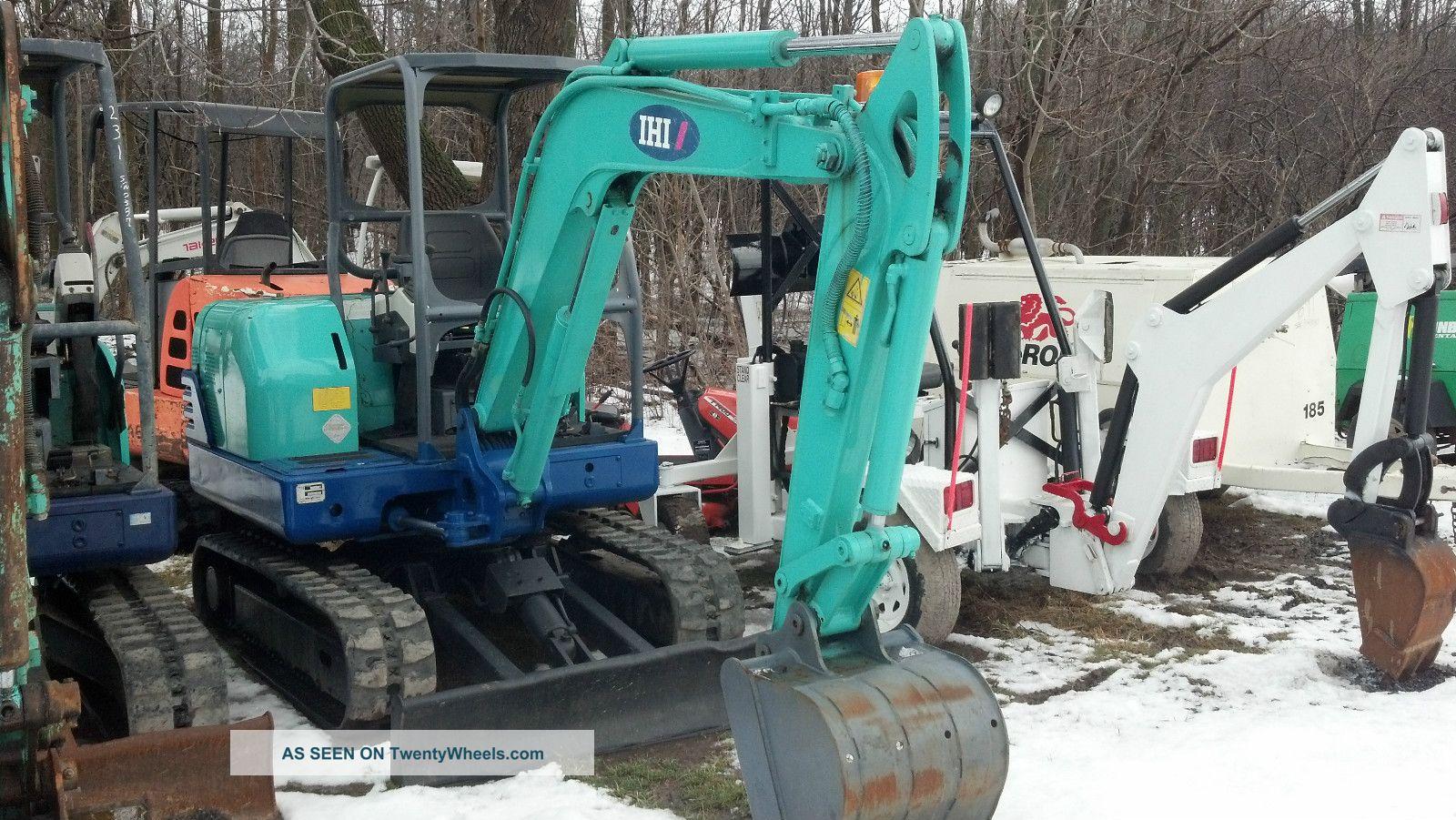2007 Ihi 35n - 2 Mini Excavator Dozer Backhoe Excavators photo